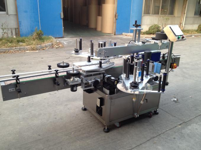 Kalt- / Nassschmelz-Klebeetiketten-Applikatormaschine für runde Flaschen 50 Hz 380 V-Netzteil