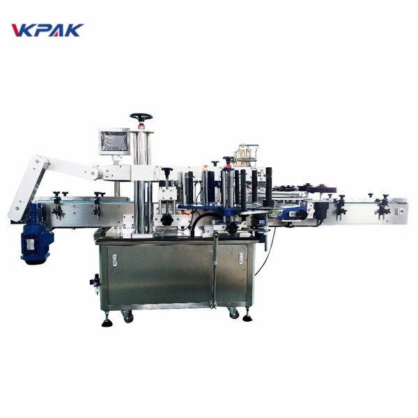 350ml Round Vial Sticker Automatische Etikettenapplikatormaschine