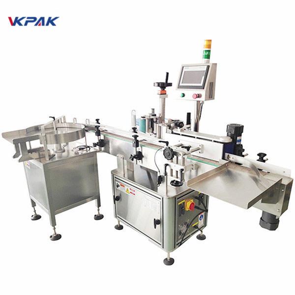 Klebstoff Aufkleber Automatische druckempfindliche Etikettenapplikatormaschine