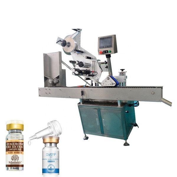 Industrielle Etikettiermaschine aus Aluminiumlegierung Opp Vial für runde Flaschen