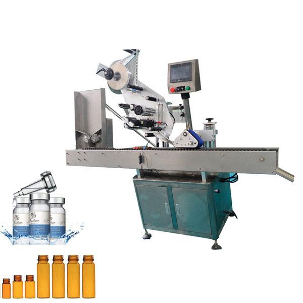 Automatische Kaugummi-Fläschchen-Etikettiermaschine für 10 ml kleine runde Flasche