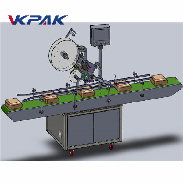 Automatische Zuführungs-Beschriftungsmaschine