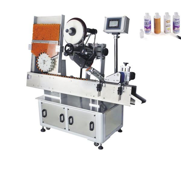 Automatische Düngerbeutel Fläschchen Aufkleber Etikettiermaschine 220V 2kw