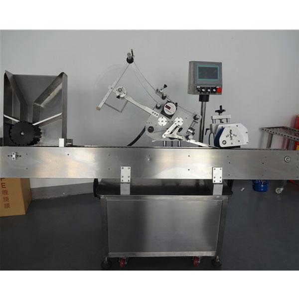 Automatische Etikettiermaschine für runde Flaschen mit Fläschchen