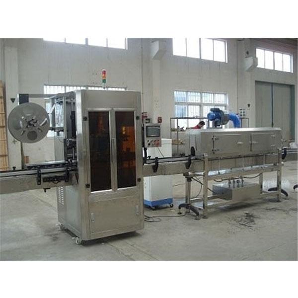 Digital Control Kunststoffbecher Schrumpfschlauch-Etikettenmaschine mit Dampferzeuger