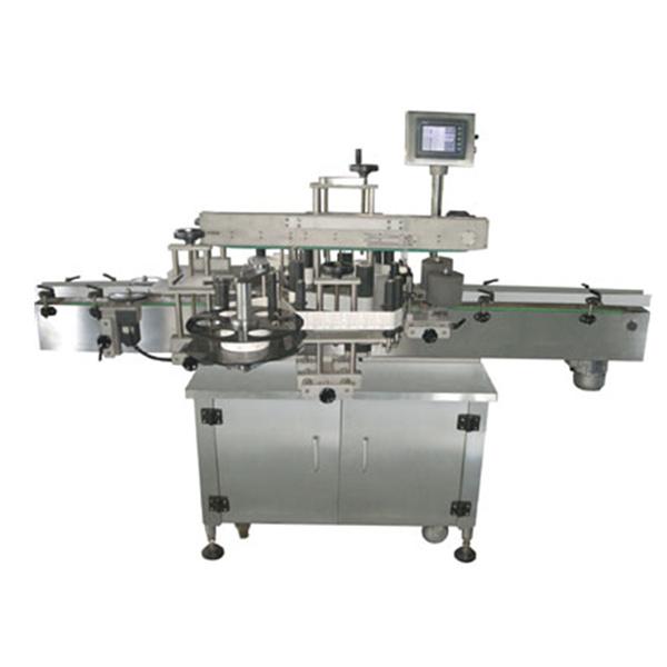 Doppelseitige automatische Aufkleberetikettiermaschine