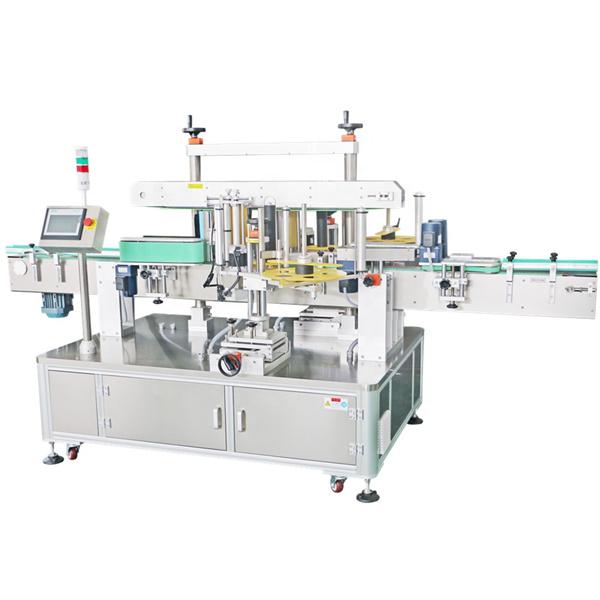Doppelseitige Aufkleber-Etikettiermaschine, automatische Etikettenapplikatormaschine
