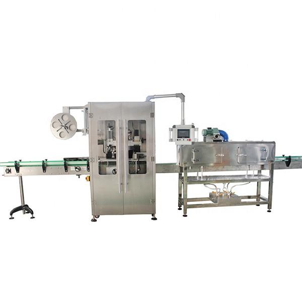 Doppelseitige Schrumpfschlauch-Etikettiermaschine aus Edelstahl für verschiedene Flaschen