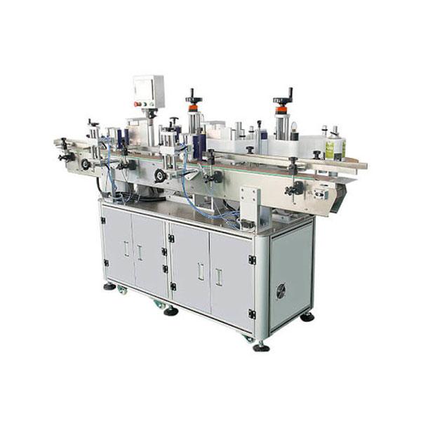 Ausgezeichnete automatische Etikettiermaschine für Waschmittelflasche Doppelseitenaufkleber