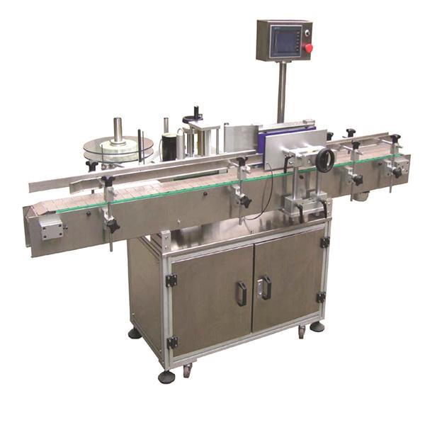 Automatische Aufkleber-Etikettiermaschine mit flexibler Speiche und doppelseitigen Papiertüten