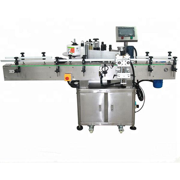 Etikettiermaschine vorne und hinten, Hochgeschwindigkeitsetikettierer 580 kg Gewicht