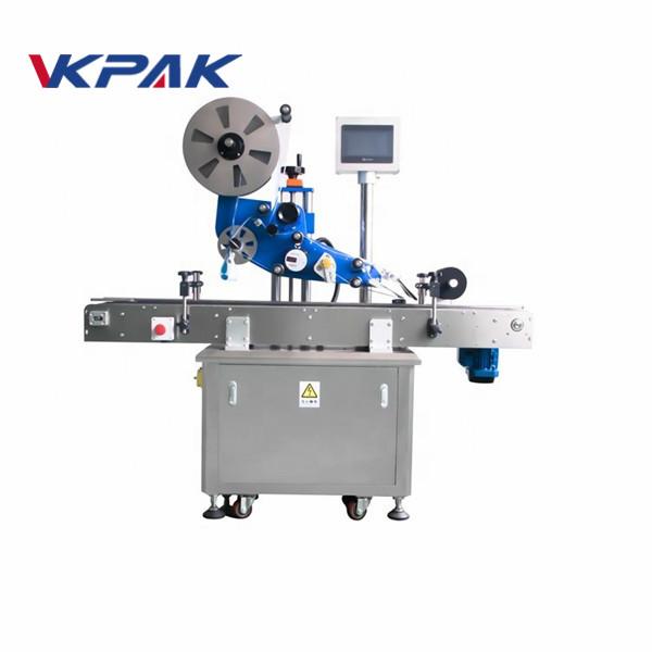 GMP Electric Flat Automatische Aufkleber-Etikettiermaschine für Flugzeugflaschen