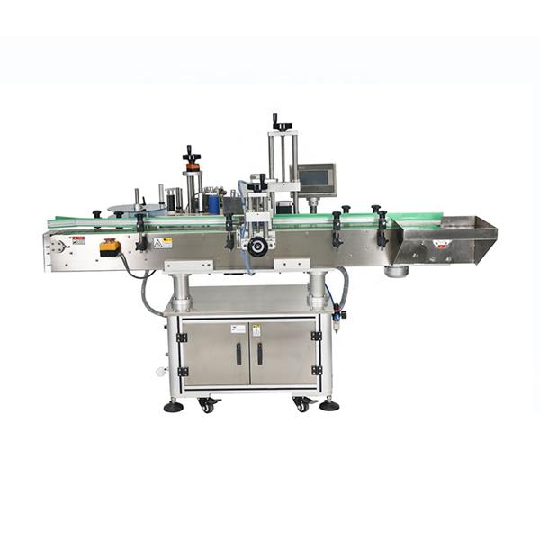 Intelligente SPS-Steuerung Automatische Doppelseitenaufkleber-Beschriftungsmaschine