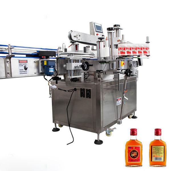Etikettiermaschine für Tassen und runde Flaschen Vollautomatischer Stick