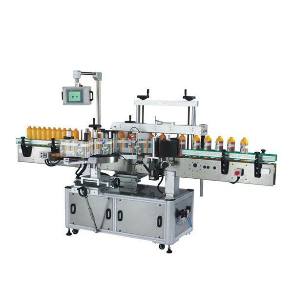 Odm Plastikflaschen-Etikettiermaschine mit SPS und Touchscreen