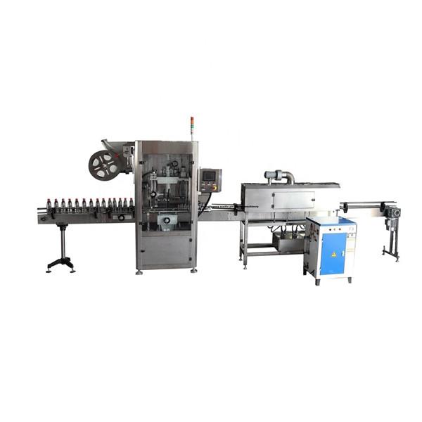 PET Functional Stainless Schrumpfschlauch-Etikettenapplikatormaschine