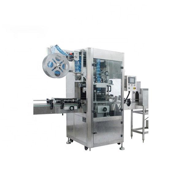 PVC-Schrumpfschlauch-Applikator-Maschine Vollautomatische Schrumpfetikettenmaschine