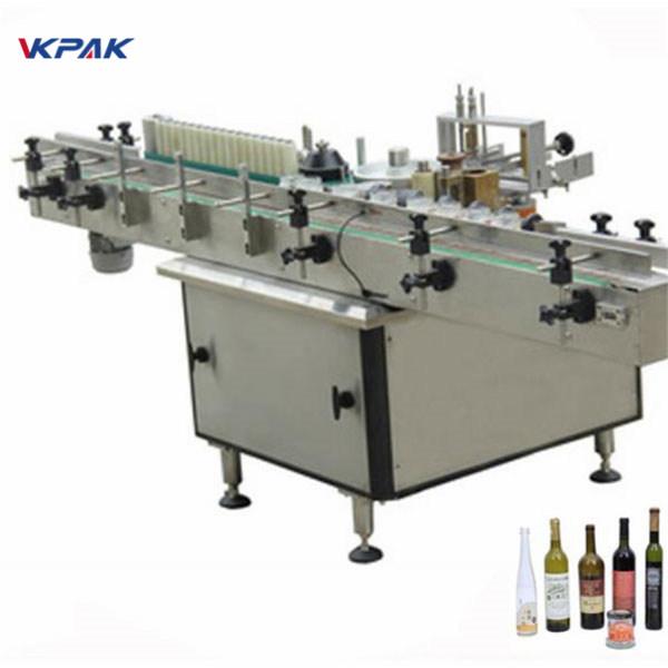 Paste und Kaltleimetikett Applikator Maschine für verschiedene Flaschen automatisch