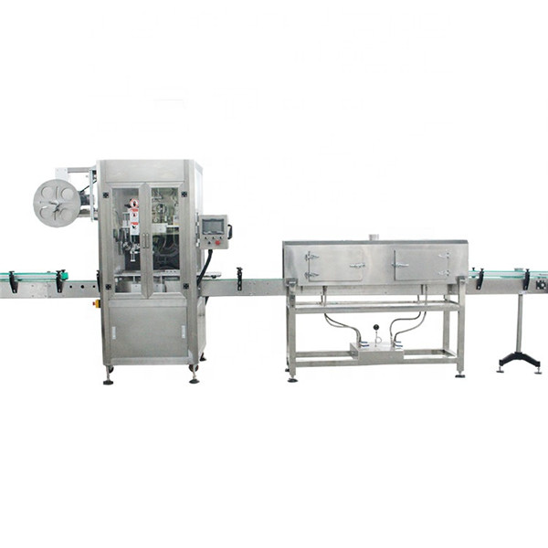 Hochgeschwindigkeits-Schrumpfschlauch-Etikettiermaschine aus Kunststoff mit Dampferzeuger