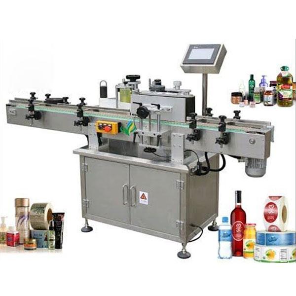 Rundflaschen-Etikettiermaschinen, Wickeletikettenapplikator