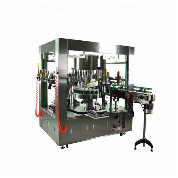 Rundflaschen-Rotationsetikettierer mit Rotationsschalen-Etikettiermaschinensystem