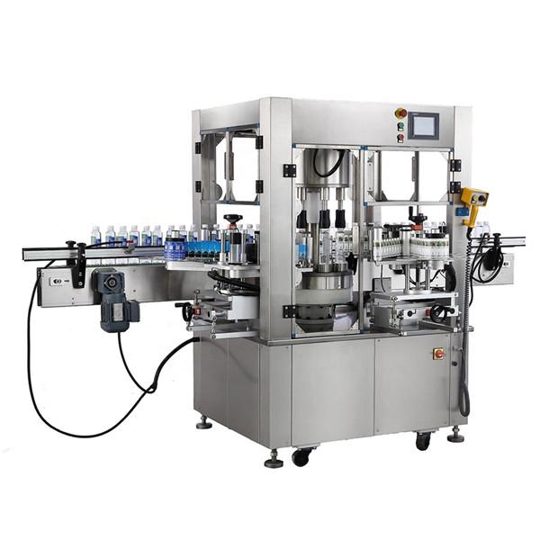 Rundflasche Rotationsaufkleber Etikettiermaschine Gerätedicke