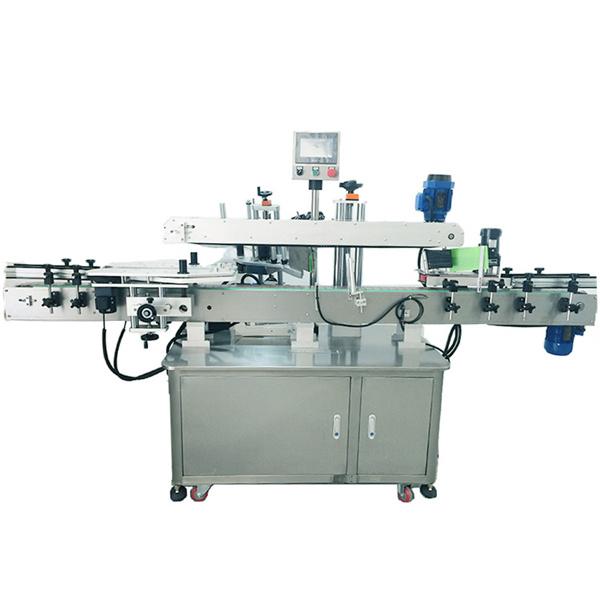 Selbstklebende Aufkleber-Etikettiermaschine Becher-Etikettiermaschine