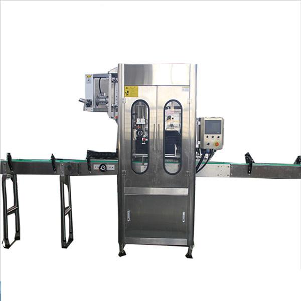 Schrumpfetikettenapplikator mit kleiner Kapazität für runde Flaschen Schrumpfetikettiermaschine