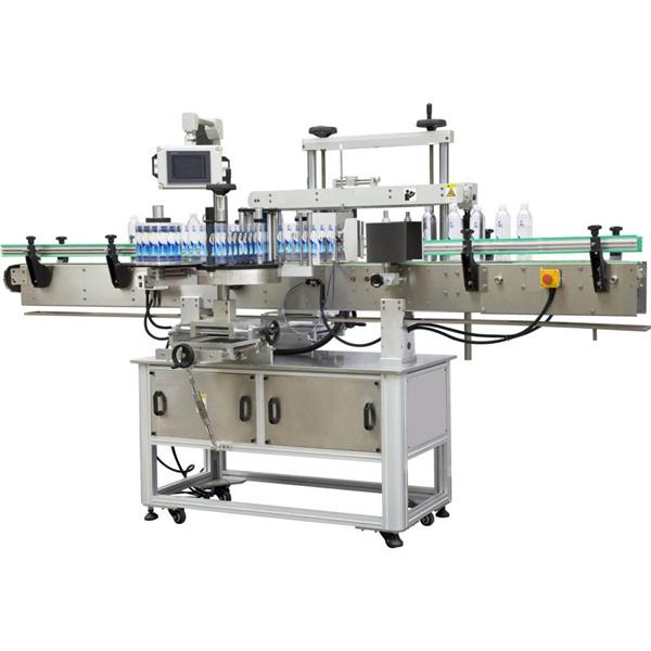 Quadratische Wickeletikettenmaschine