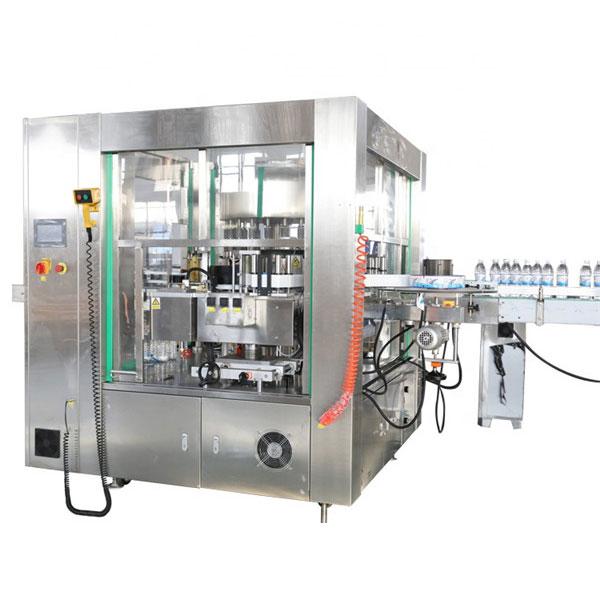 Drei Gesichter Standort Automatische Aufkleberetikettiermaschine Rotationssystem Maschinen