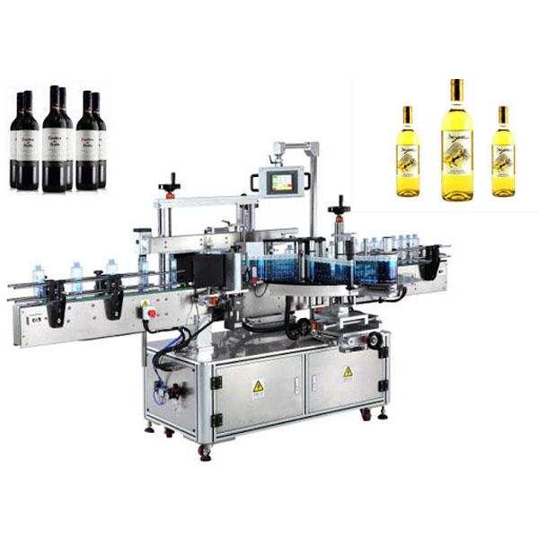 Weinflaschenetikett Applikator Maschine, Bierflaschenetikettierer