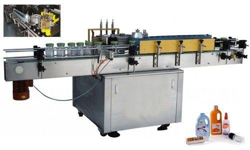 Automatische Kaltkleber-Etikettenapplikatormaschine für runde Flaschen nach Maß