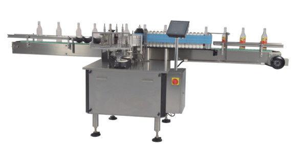 China Hot Melt Bopp / Nasskleber Automatischer Flachetikettenapplikator für Flaschen CE-Zertifikat Lieferant