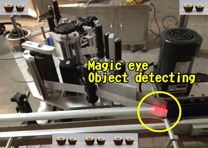 Automatische Etikettenapplikatormaschine für Honigflaschen
