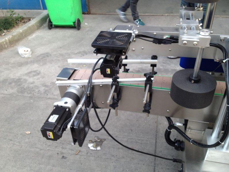 China Kalt- / Nassschmelz-Klebeetikettapplikatormaschine für runde Flaschen 50HZ 380V Netzteillieferant