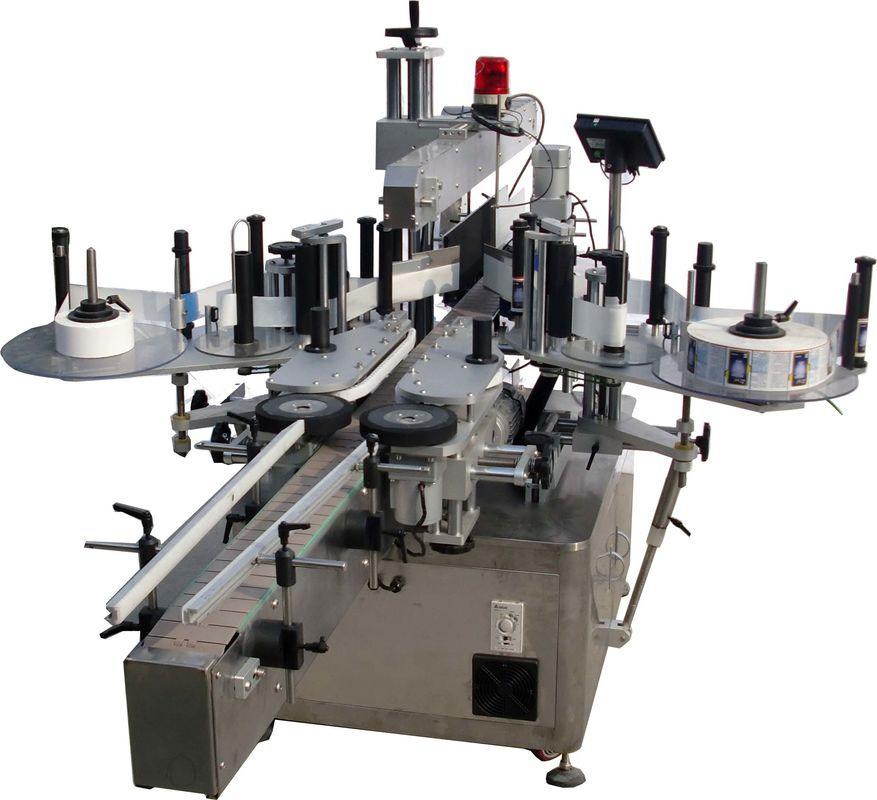 Automatische Etikettiermaschine mit flacher Oberfläche für Taschen Fabrik High Speed