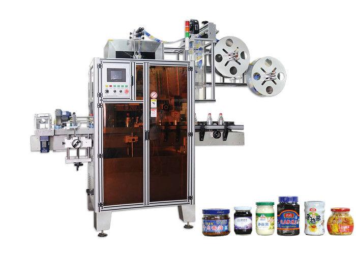 PET Automatische Schrumpfschlauch-Etikettiermaschine Hohe Effizienz bei Engpässen
