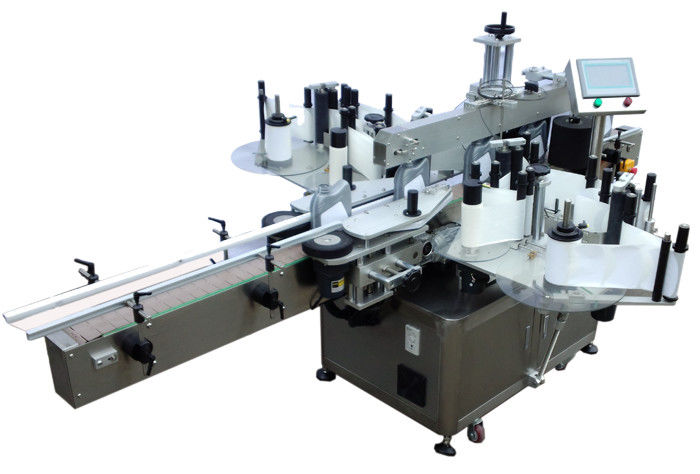 SUS304 Edelstahl Economy Doppelseiten-Aufkleber-Etikettiermaschine