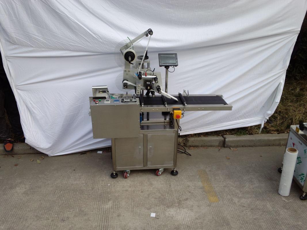 Top Etikettiermaschine Klebeetikettenapplikator Optionale Codiermaschine