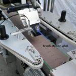 Automatische Etikettiermaschine für runde Flaschenaufkleber für Bierflaschen-Speichenmotor