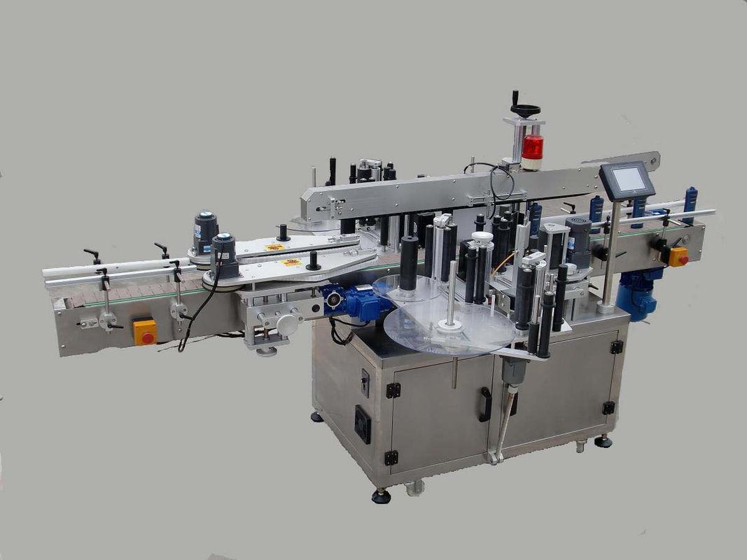 Automatische Doppelseiten-Aufkleber-Beschriftungsmaschine mit Paging-Gerät und Codiermaschine