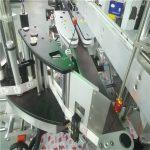 Automatische Doppelseiten-Aufkleber-Beschriftungsmaschine für quadratische runde flache Flasche
