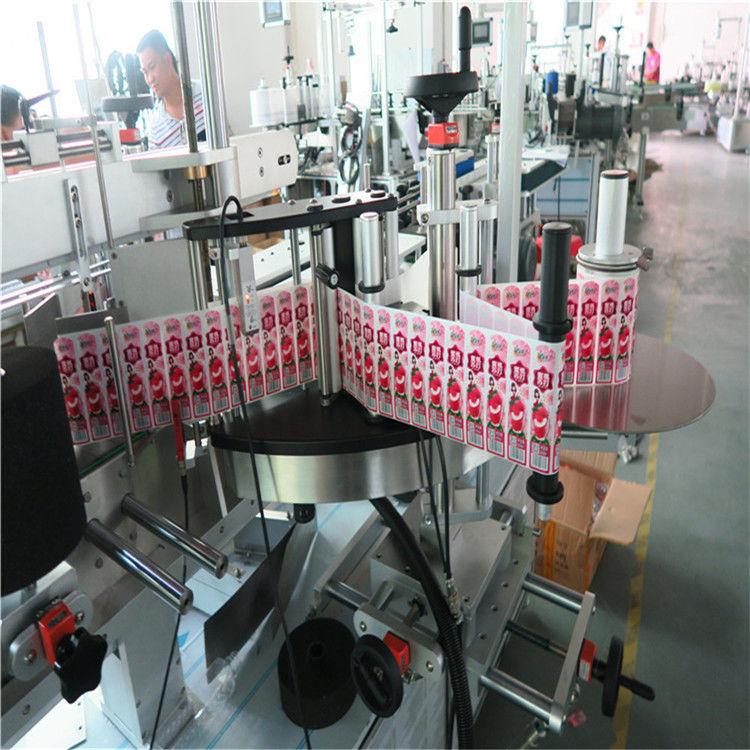 Aufkleber Etikettenapplikator für vorne hinten und umwickeln Etikettenflasche