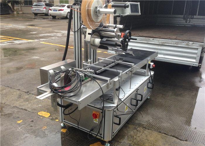 Hochgeschwindigkeitsrollen Top Sticker Label Maschine Schritt Motorsteuerung