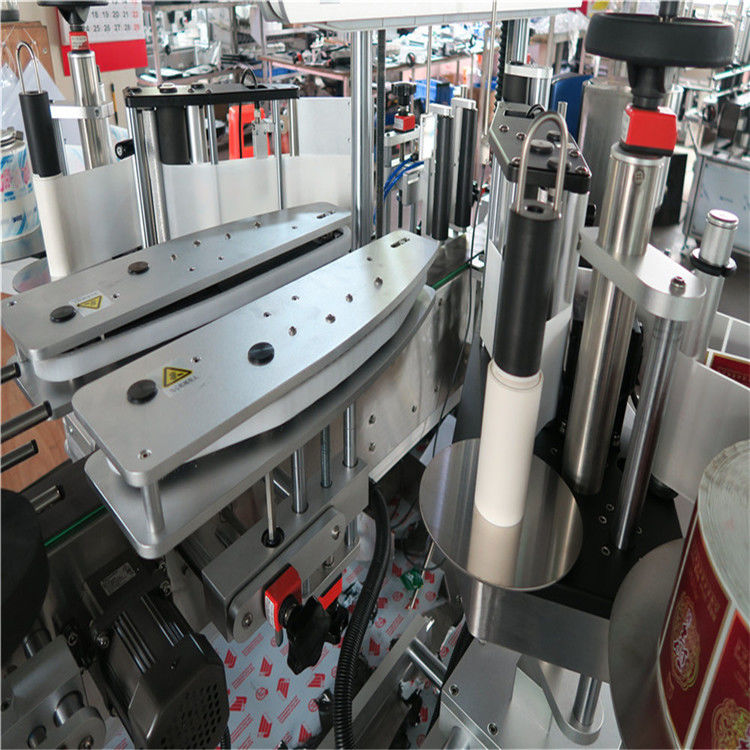 Vollautomatische selbstklebende Aufkleber-Etikettiermaschine doppelseitig