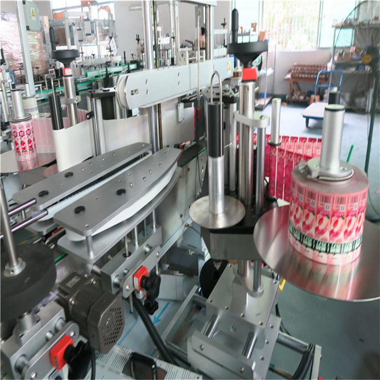 Vordere Rückseite Automatische Aufkleberetikettiermaschine Selbstklebend 330 mm Maximaler Außendurchmesser