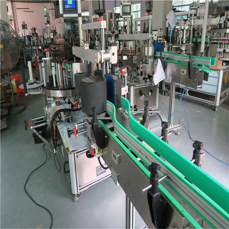 Doppelseitige selbstklebende Aufkleberflaschen-Etikettiermaschine 190 mm Höhe max
