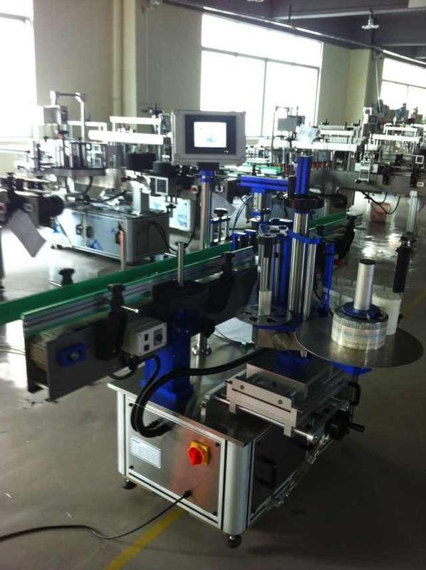 Vollautomatischer Aufkleberetikettenapplikator, Flaschenetikettiermaschine