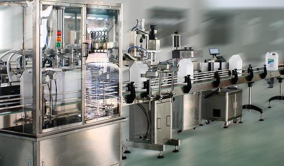 Hochgeschwindigkeits-Doppelseiten-Aufkleber-Etikettenapplikator für runde / quadratische / flache Flaschen