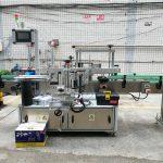 Vorder- / Rückseite und Wickeletikettenapplikator, Etikettenapplikatormaschine